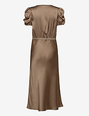 SAND - Double Silk - Berenice Dress - robes midi - light camel - 1