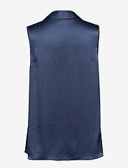 SAND - Double Silk - Prosi Top - blouses zonder mouwen - medium blue - 1