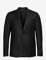 SAND - Cashmere Flannel - Star Napoli Norm - single breasted blazers - black - 0