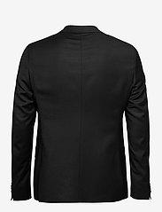 SAND - Cashmere Flannel - Star Napoli Norm - single breasted blazers - black - 1