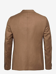 SAND - Cashmere Flannel - Star Napoli Norm - single breasted blazers - light camel - 1