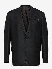 SAND - 6135 Panama - Star Napoli Normal - single breasted blazers - black - 0