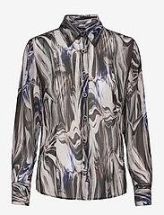 SAND - 3389 - Lotte BC - overhemden met lange mouwen - blue - 0