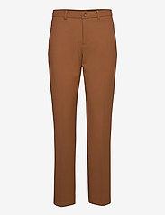 SAND - 3596 - Dori A - slim fit housut - dark camel - 0