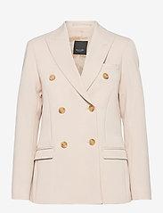 SAND - 3596 - Rani DB - vestes habillées - off white - 0
