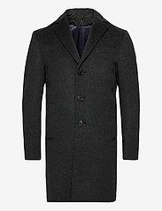 SAND - Cashmere Coat - Sultan Tech - ullrockar - charcoal - 2