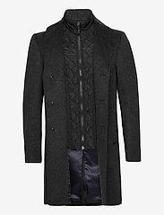 SAND - Cashmere Coat - Sultan Tech - ullrockar - charcoal - 3