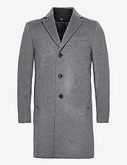 SAND - Cashmere Coat - Sultan Tech - villakangastakit - medium grey - 3