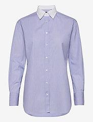 SAND - 8753 - Nube C - långärmade skjortor - blue - 0