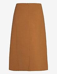 SAND - 2548 - Malhia Skirt - midi kjolar - light camel - 1