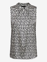 SAND - 3174 Satin - Prosi Top - blouses sans manches - pattern - 0