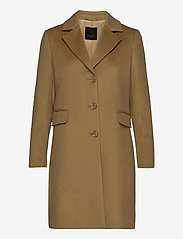SAND - Cashmere Coat W - Britni 2 - manteaux en laine - camel - 0