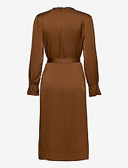 SAND - Satin Stretch - Raya FS Dress - robes midi - copper - 1