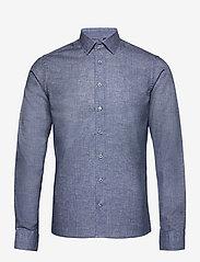 SAND - 8758 - Iver C 2 - oxford-skjortor - medium blue - 0