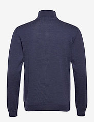 SAND - Merino Embr. - Ingram - basic strik - medium blue - 1