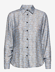 SAND - 3418 - Latia - långärmade skjortor - pattern - 0