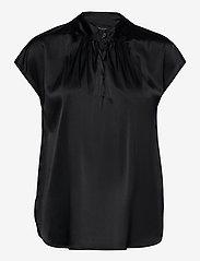 SAND - 3176 - Prosi Top S - blouses à manches courtes - black - 0
