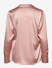 SAND - 3176 - Adal - long sleeved blouses - dark nude - 1