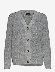 SAND - 5210 - Alp Cardigan - koftor - grey - 0