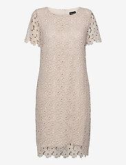 SAND - 3177 - Ellie - robes de cocktail - off white - 0