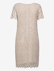 SAND - 3177 - Ellie - robes de cocktail - off white - 1