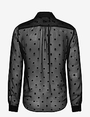SAND - 3179 - Latia - long sleeved blouses - black - 1