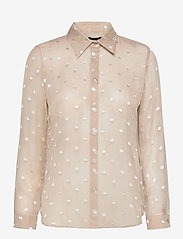 SAND - 3179 - Latia - long sleeved blouses - off white - 0