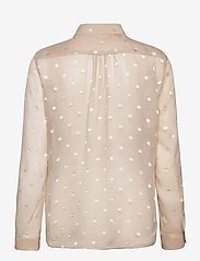 SAND - 3179 - Latia - long sleeved blouses - off white - 1