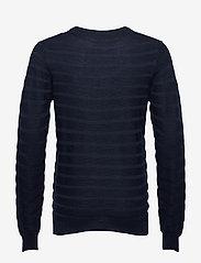 SAND - Merino Stripe - Iq - stickade basplagg - dark blue/navy - 1