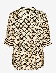 SAND - 3426 - Ambar Blouse - blouses met korte mouwen - pale yellow - 1