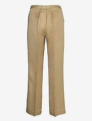 SAND - Twill Lux - Miriam - broeken med straight ben - light camel - 1