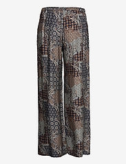 SAND - 3424 - Sasha Flex - uitlopende broeken - pattern - 1