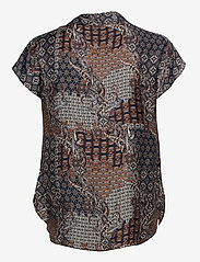 SAND - 3424 - Prosi Top - blouses met korte mouwen - pattern - 1