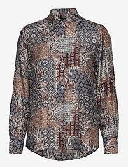 SAND - 3424 - Latia - overhemden met lange mouwen - pattern - 0