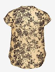SAND - 3430 - Prosi Top S - blouses met korte mouwen - pale yellow - 1