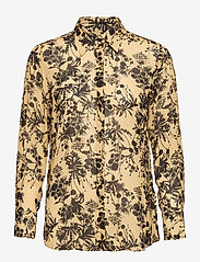 SAND - 3430 - Latia Long - overhemden met lange mouwen - pale yellow - 0
