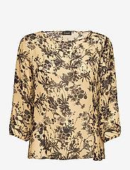 SAND - 3430 - Nova - blouses met lange mouwen - pale yellow - 0