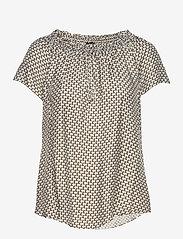 SAND - 3437 - Astride Top - blouses met korte mouwen - blue - 0