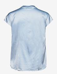 SAND - 3176 - Prosi Top S - blouses met korte mouwen - light blue - 1