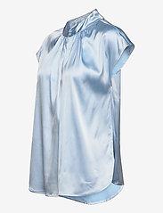 SAND - 3176 - Prosi Top S - blouses met korte mouwen - light blue - 3