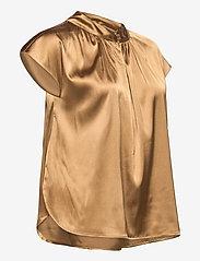 SAND - 3176 - Prosi Top S - blouses met korte mouwen - light camel - 3