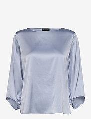 SAND - 3176 - Nova - blouses met lange mouwen - light blue - 0