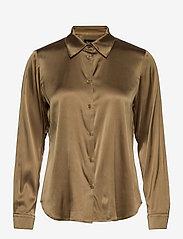 SAND - 3176 - Latia - overhemden met lange mouwen - light camel - 0