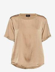 SAND - 3176 SW - Minerva - blouses met korte mouwen - light camel - 0