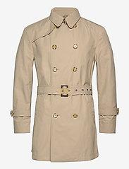 SAND - Techno Cotton - Trench B - trenchcoats - light camel - 0