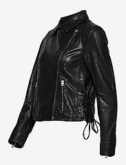 SAND - Vintage Lamb Leather - Natale - leren jassen - black - 2