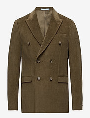 SAND - 6122 - Star DB Normal - double breasted blazers - light camel - 0