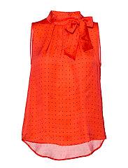 3356 - Prosa Top Tie - MEDIUM RED
