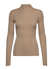 Lurex Viscose - Eleri Top - BEIGE