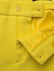 SAND - 3596 - Dori A - slim fit broeken - pale yellow - 3